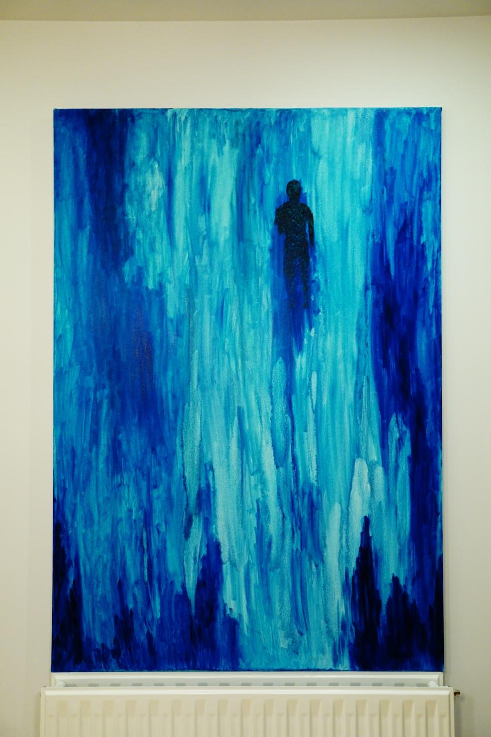 HAISUL, abstract, abstracto, essence, esssentialist, essentialism, esencialista, esencia, oil painting, óleo, reflection, reflexión